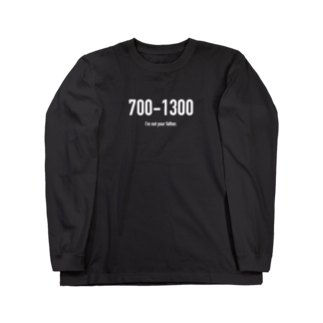wlmのPOINTS 700-1300 Long sleeve T-shirts