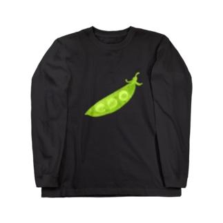 さやえんどう Long sleeve T-shirts