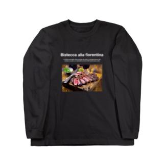 ビステッカアッラフィオレンティーナ Long sleeve T-shirts