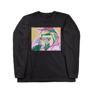 マカロン食す Long sleeve T-shirts