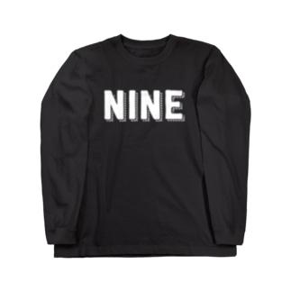 NINE Long sleeve T-shirts