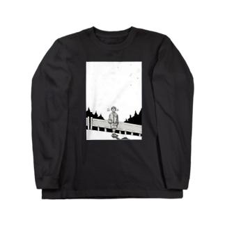 オリオン座の見える夜 Long sleeve T-shirts