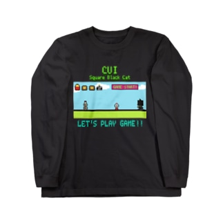 LET'S PLAY GAME!! Long sleeve T-shirts