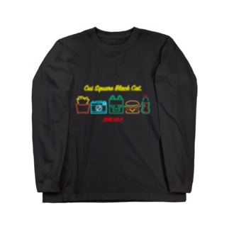 NEON SIGN Long sleeve T-shirts