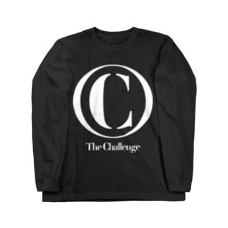 ザ・チャレンジ クラシックロゴ ロングTシャツ(白文字) Long sleeve T-shirts