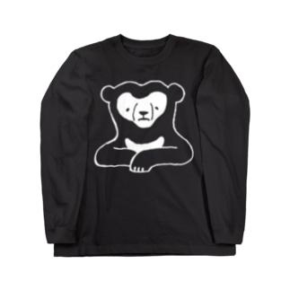 マレーグマ(ロゴなし) Long sleeve T-shirts