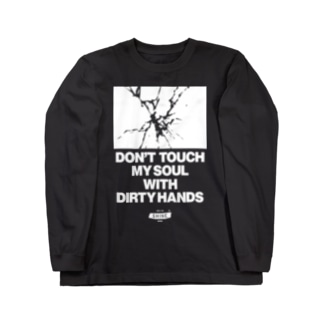DON'T TOUCH Long sleeve T-shirts