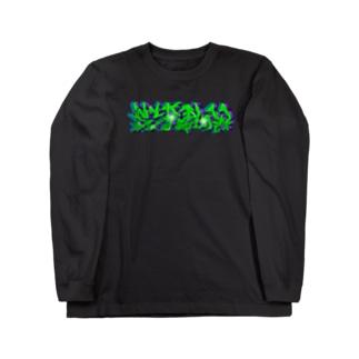 SCRPlow_Graffiti Long sleeve T-shirts