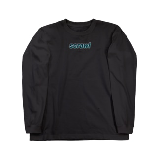 Scrawl Long sleeve T-shirts