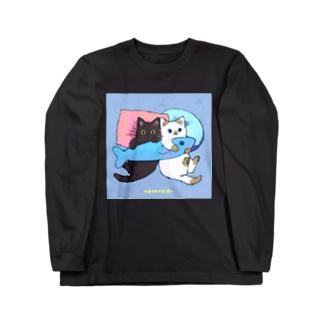 たたメーピー 〈だきまくら🐟〉 Long sleeve T-shirts