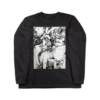 ドローイング2 Long sleeve T-shirts