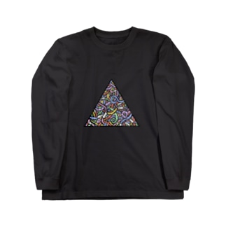 ミミ図(colour) Long sleeve T-shirts
