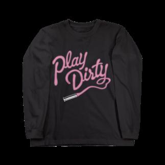 Shineのplay dirty Long sleeve T-shirts