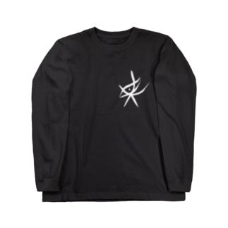 某の眼バックプリント【映画「みぽりん」】 Long sleeve T-shirts