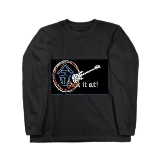 ニコ生金ちゃんブロードのAさん作品 Long sleeve T-shirts