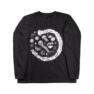 Jellyfish planet(クラゲの惑星) Long sleeve T-shirts
