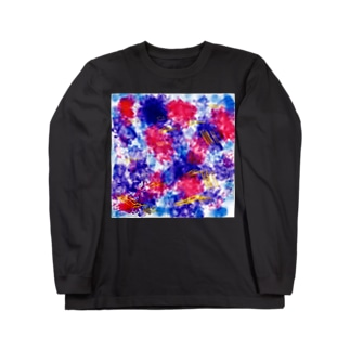 おえかき Long sleeve T-shirts