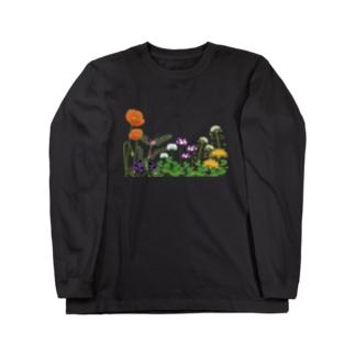 野の花 Long sleeve T-shirts