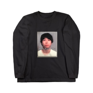 俺の学生証 Long sleeve T-shirts