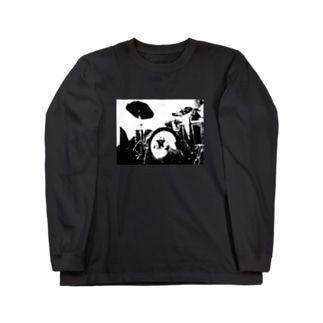 DRUMS!!#1 Long sleeve T-shirts