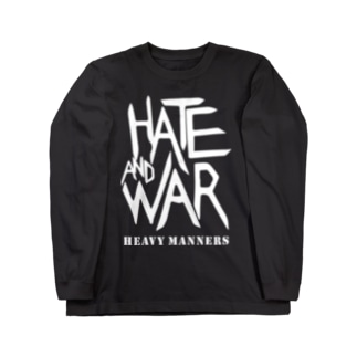 hate&war Long sleeve T-shirts