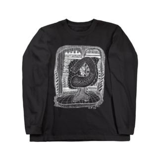 kw_02w_縄文 Long sleeve T-shirts