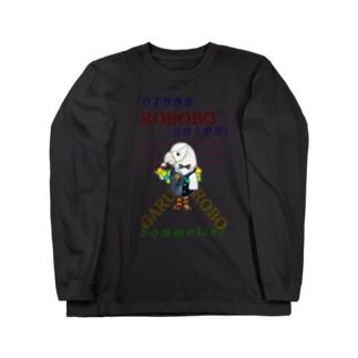 ROBOBO🤖「ガルロボ」 Long sleeve T-shirts