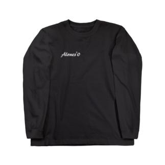 alones'0 (ロゴ Long sleeve T-shirts