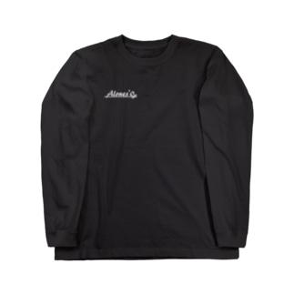 alones'0 オリジナル(ロゴ Long sleeve T-shirts