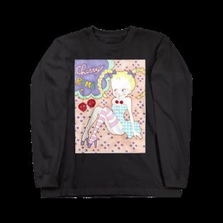 kaoru_littieのCherry  Bomb Long sleeve T-shirts