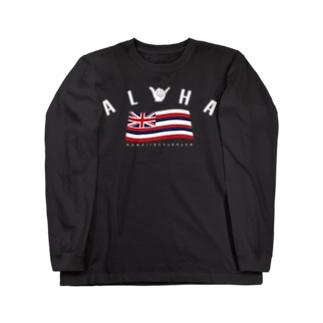 Aloha Flag Long sleeve T-shirts