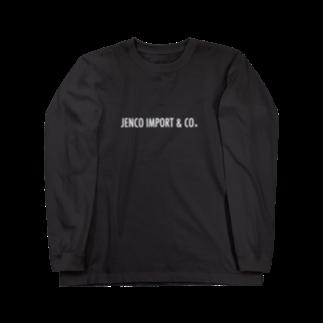 JENCO IMPORT & CO.のJENCO 2019SS_LOGO Long sleeve T-shirts