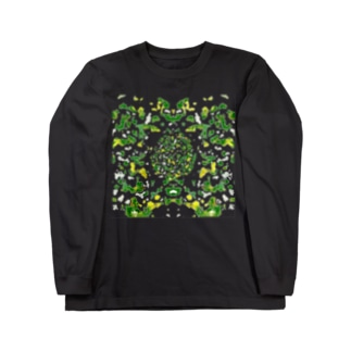 happymoonkobeのAutumn Reef Long sleeve T-shirts