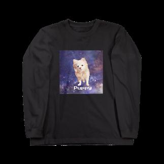 tinamagicalのpuppy Long sleeve T-shirts