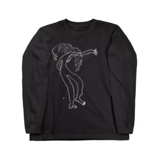 fDESIGNのfm_16w_刹那 Long sleeve T-shirts