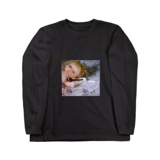 イヤフォンとメル Long sleeve T-shirts