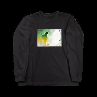 kawasunの影と虹 Long sleeve T-shirts