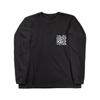 QRコード Long sleeve T-shirts