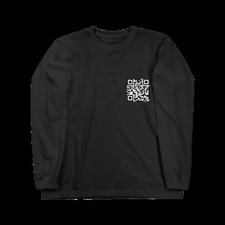 ___Ru____のQRコード Long sleeve T-shirts