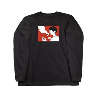 ブラックヤニカスパイセン Long sleeve T-shirts
