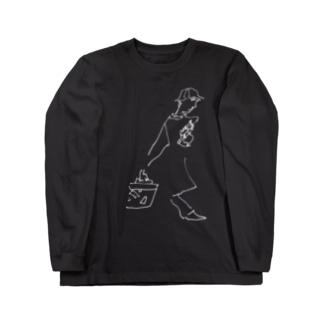 fm_22w_さすらい Long sleeve T-shirts