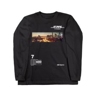SAMULAI  Express 中侍道敦豪!! Long Sleeve T-Shirt