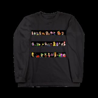 マニマニの魔法少女犬子と幸子 終わら(せ)ないパレード Long sleeve T-shirts