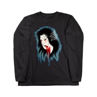 Curse neck L/ST Long sleeve T-shirts