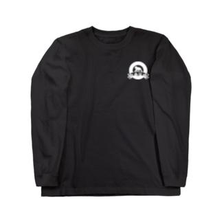 Butsuage(white Logo One Point) Long sleeve T-shirts