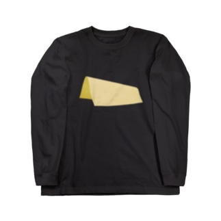 Paper cloud_yellow Long sleeve T-shirts