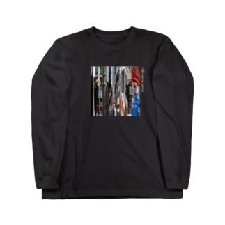 UNYA_みらーれない Long sleeve T-shirts
