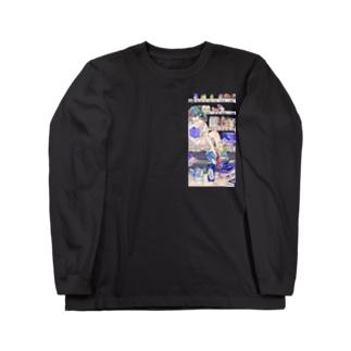 カルシウム 縦 Long sleeve T-shirts