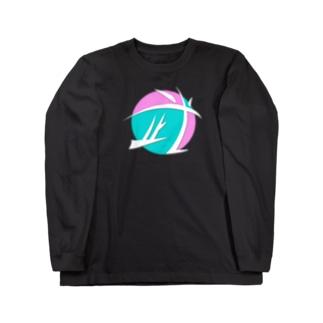 ニコラス武 ロゴ 第二形態 Long sleeve T-shirts