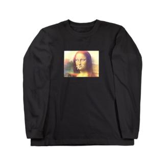 Mona Lisa Long sleeve T-shirts